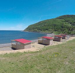 Parc Et Mer Mont Louis Gaspesie Quebec